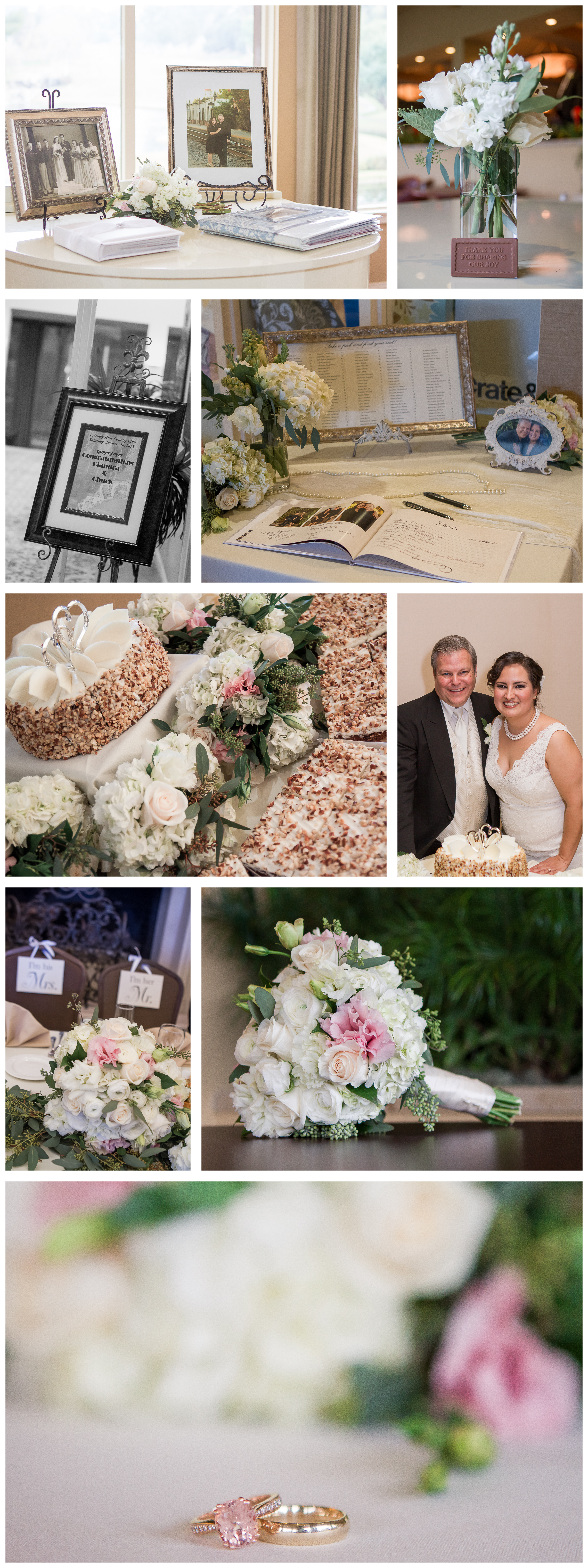 Causey wedding blog collage 4